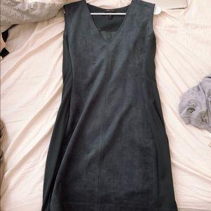 BCBG velvet body-con v neck dress